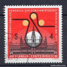 Sellos: AUSTRIA, 1972, ,MICHEL 1388. Lote 292287818