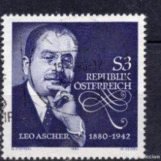 Sellos: AUSTRIA, 1980 ,MICHEL 1650. Lote 292322533