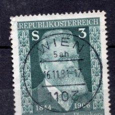 Sellos: AUSTRIA, 1981 ,MICHEL 1677. Lote 292324538