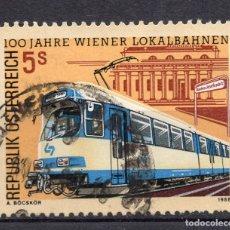 Sellos: AUSTRIA, 1988 , MICHEL 1917. Lote 293699038