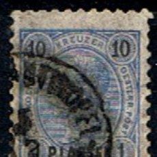 Sellos: LEVANT AUSTRIACO // YVERT 17 // 1888 ... USADO. Lote 294100033