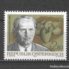 Sellos: AUSTRIA 1976 ** MNH SERIE COMPLETA - 9/8. Lote 295403213