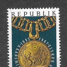 Sellos: AUSTRIA 1967 ** MNH SERIE COMPLETA - 9/8. Lote 295403378