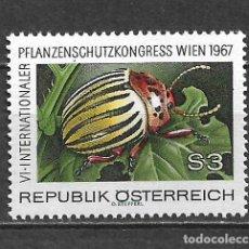 Sellos: AUSTRIA 1967 ** MNH SERIE COMPLETA - 9/9. Lote 295408873