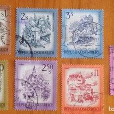 Sellos: LOTE 7 SELLOS DE AUSTRIA - PAISAJES - MONTAÑAS -. Lote 295413868