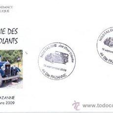 Sellos: FRANCIA 2009. MATASELLO ESPECIAL. NOSTALGIA DE LOS VIEJOS VOLANTES. HISTORIA DEL AUTOMOVIL. Lote 15098746