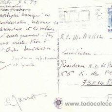 Sellos: SUIZA, EN CARRETERA VELOCIDAD MODERADA, RODILLO DEL 7-6-1989. Lote 18350353