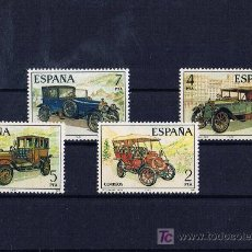 Sellos: AUTOS ANTIGUOS SPAIN 1977 NUEVOS SERIE COMPLETA. Lote 19710376
