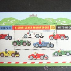 Timbres: ALEMANIA FED. Nº YVERT HB 74*** AÑO 2009.DEPORTE AUTOMOVILISMO HISTORICO. Lote 31687405