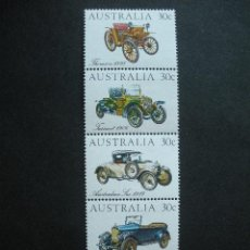 Sellos: AUSTRALIA 1984 IVERT 850/4 *** AUTOMOVILES ANTIGUOS - COCHES. Lote 34547920