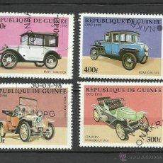 Sellos: GUINEA 1998 - LOTE DE SELLOS - AUTOS CLASICOS ANTIGUOS - CARS- AUTOMOVIL - COCHES. Lote 40885331