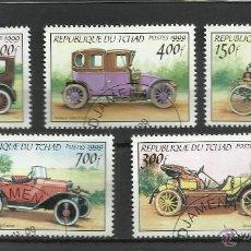 Sellos: TCHAD 1999 - LOTE DE SELLOS - AUTOS CLASICOS ANTIGUOS - CARS- AUTOMOVIL . Lote 40885504