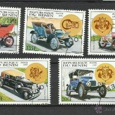 Sellos: BENIN 1997 - LOTE DE SELLOS - AUTOS CLASICOS ANTIGUOS - CARS- AUTOMOVIL . Lote 40885594