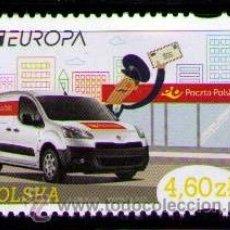 Sellos: POLONIA 2013 - AUTOMOVILES - EUROPA - 1 SELLO. Lote 41019572