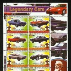 Sellos: KURDISTAN 2005 HOJA BLOQUE DE SELLOS CENTENARIO DE LOS BOYS SCOUTS- AUTOS LEGENDARIOS- AUTOMOVIL. Lote 41228836