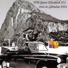 Sellos: GIBRALTAR 2004 - 50 ANIVERSARIO DE LA VISITA DE LA REINA - YVERT BLOCK Nº 58. Lote 199065798