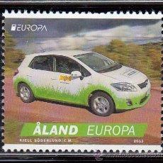 Sellos: ALAND 2013 - EUROPA - AUTOMOVILES - 1 SELLO. Lote 43462116