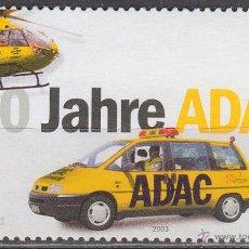 Sellos: ALEMANIA AÑO 2003, CENTENARIO DEL ADAC, AUTOMOVIL CLUB DE ALEMANIA, NUEVO. Lote 49113745