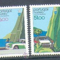 Sellos: PORTUGAL ** & XXV ANIVERSÁRIO DO RALLY DA MADEIRA 1984 (1669). Lote 95636390