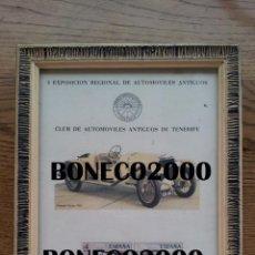 Sellos: CUADRO I EXPOSICION REGIONAL DE AUTOMOVILES ANTIGUOS TENERIFE 1977 CLUB AUTOMOVILES ANTIGUO TENERIFE. Lote 50855392