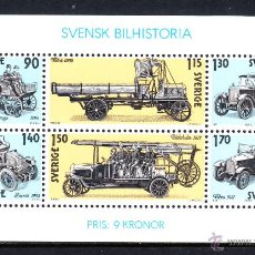 Sellos: SUECIA HB 8** - AÑO 1980 - AUTOMOVILES - HISTORIA DEL AUTOMOVIL SUECO. Lote 113043668