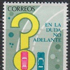 Sellos: EDIFIL 2313, SEGURIDAD VIAL, ADELANTAM,IENTO EN CURVA, NUEVO ***. Lote 53726596