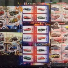 Sellos: LOTE COCHES CLASICOS CLASSIC CARS 2013 RWANDA CHAD MALAWI NUEVOS ** MNH. Lote 53874966