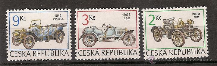 REPÚBLICA CHECA ** & CLASSIC CARS 1994 (2889) (Sellos - Temáticas - Automóviles)