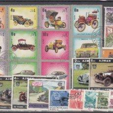Sellos: LOTE DE 30 SELLOS DE BUENA CALIDAD DE AUTOMÓVILES.. Lote 54878535