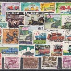 Sellos: LOTE DE 27 SELLOS DE BUENA CALIDAD DE AUTOMÓVILES.. Lote 54878816