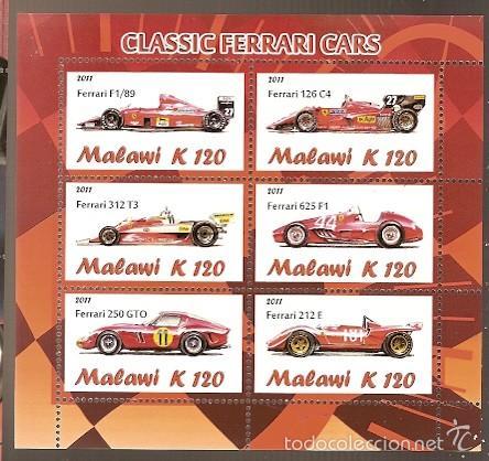 MALAWI ** & FERRARI 2011 (1) (Sellos - Temáticas - Automóviles)