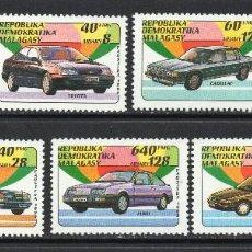Sellos: MADAGASCAR 1137/43** - AÑO 1992 - AUTOMOVILES. Lote 56623702