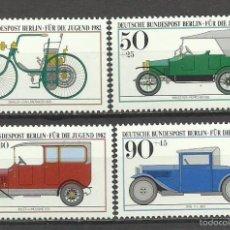 Sellos: SELLO ALEMANIA 1982 TEMATICA AUTOMOVIL - COCHES HISTÓRICOS DEL MUSEO DE MUNICH . Lote 59015180