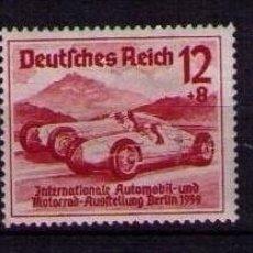 Sellos: ALEMANIA 1939 - SALON DEL AUTOMOVIL - YVERT 627/629 MH. Lote 60940447