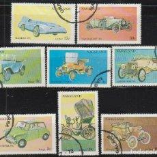 Sellos - Nagaland, coches historicos, usado (serie completa) - 90726113