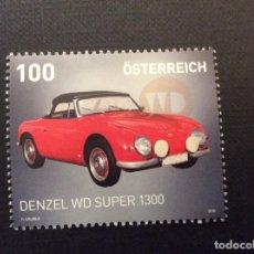 Sellos: AUSTRIA AÑO 2016. AUTOMOVIL DENZEL WD SUPER 1300. Lote 218545036