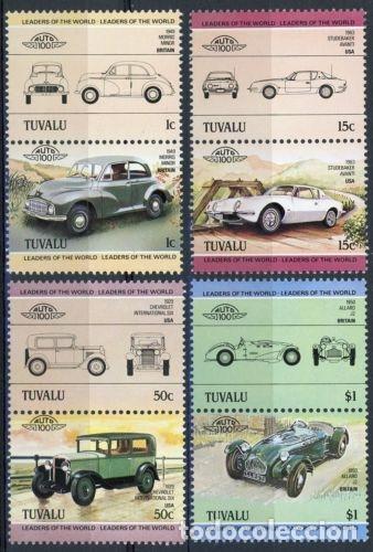 TUVALU 1984 IVERT 279/86 *** AUTOMOVILES ANTIGUOS 1ª SERIE - COCHES (Sellos - Temáticas - Automóviles)