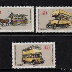 Sellos: BERLIN 411/13** - AÑO 1961 - AUTOMOVILES - TRANSPORTES BERLINESES. Lote 259038805