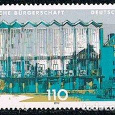 Sellos: ALEMANIA IVERT Nº 1872, PARLAMENTO DEL LANDER DE BREMEN, NUEVO *** . Lote 92283100