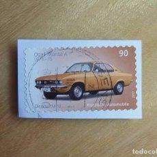 Sellos: ALEMANIA - COCHES - OPEL MANTA A (1970-75).. Lote 105338071