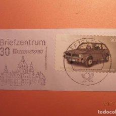 Sellos: ALEMANIA - COCHES - VW GOLF SERIE A (1974-83) - HANNOVER (CASA CONSISTORIAL, AYUNTAMIENTO).. Lote 105338731