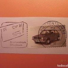 Sellos: ALEMANIA - COCHES - VW GOLF SERIE A (1974-83) - RODILLO ESPECIAL DE CARTA.. Lote 105338959