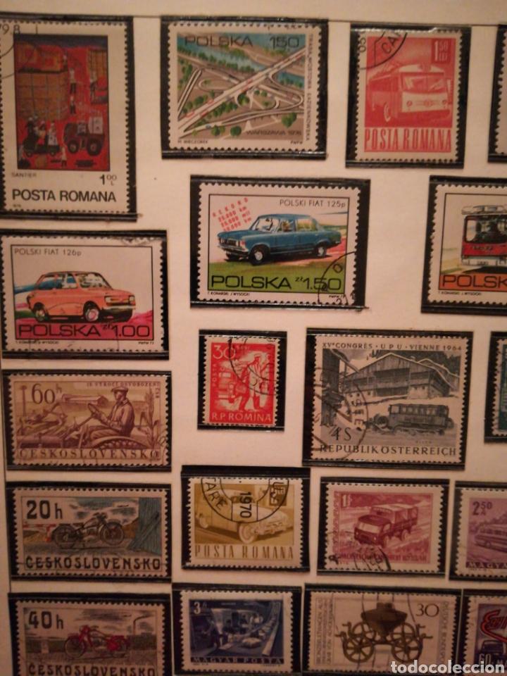 Sellos: 35 sellos coches, autobuses... : Polonia, Austria, Finlandia, Alemania, etc. Envio ord 1€ - Foto 2 - 108332680