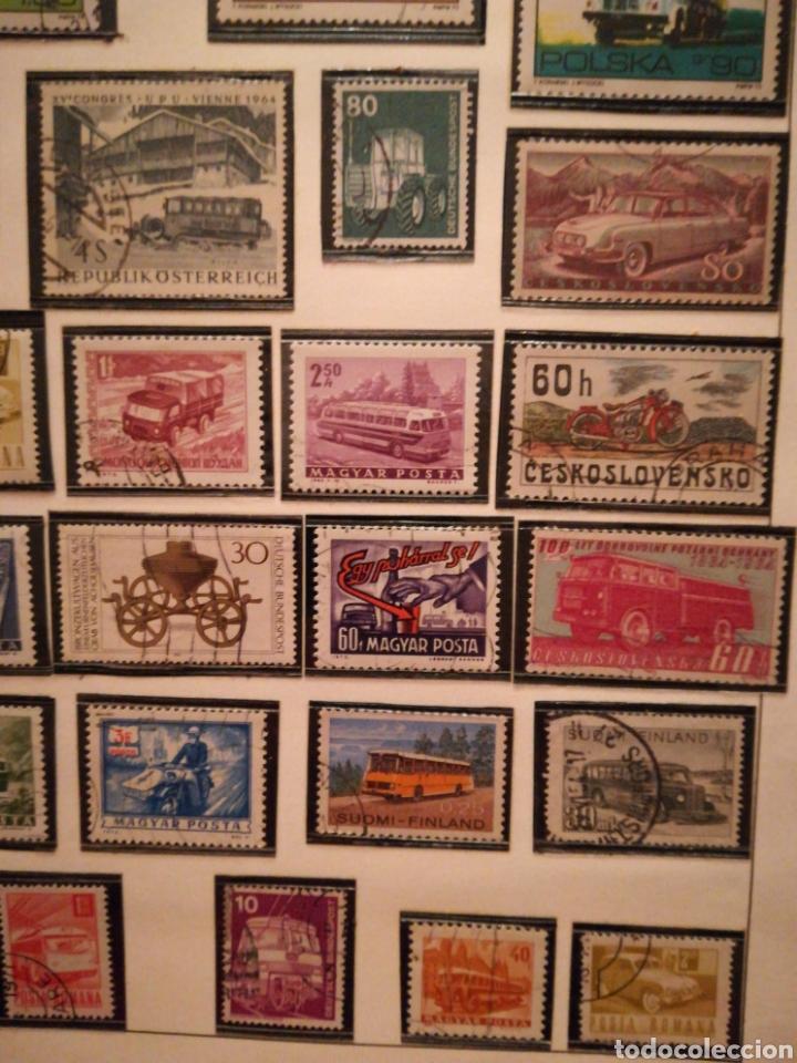 Sellos: 35 sellos coches, autobuses... : Polonia, Austria, Finlandia, Alemania, etc. Envio ord 1€ - Foto 3 - 108332680