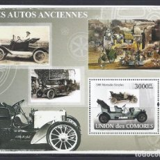 Sellos: COMORES 2008 HB IVERT 128 *** AUTOMOVILES ANTIGUOS - COCHES. Lote 113669915