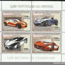Sellos: HB SELLOS REPÚBLICA DEL CONGO TRANSPORTE - AUTOMÓVILES - COCHES - FERRARI. Lote 116690019
