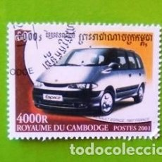 Sellos: SELLO CAMBODGE (RENAULT SPACE). Lote 117301099