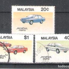 Sellos: FEDERACIÓN MALAYA Nº 320/322º AUTOMÓVILES.SERIE COMPLETA. Lote 118372167