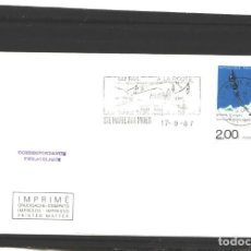 Sellos: FRANCIA 1987 - LE TUNNEL TRANSVOSGIEN - STE. MARIE AUX MINES. Lote 127135943
