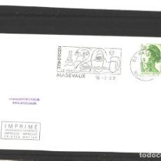 Sellos: FRANCIA 1989 - BOURBACH - MASEVAUX. Lote 127137147